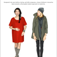 Finally a maternity line designed to look stylish beyond the 9 months - By Fashion Stylist Lenya Jones